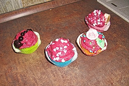 Waldfrucht-Cupcakes 8