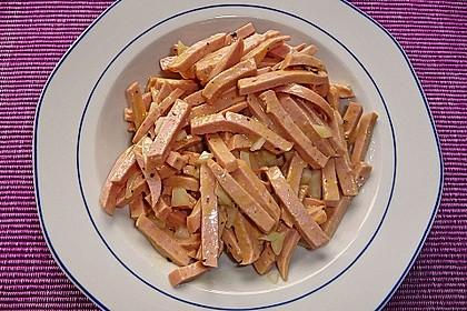 Bayrischer Wurstsalat 4