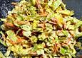 Spitzkohlsalat mit Meerrettich
