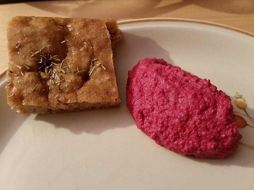 rote bete hummus mit joghurt rezept mit bild von sweeterassugar. Black Bedroom Furniture Sets. Home Design Ideas