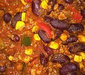 "Vegetarisch-veganes Chili sin Carne ""SuperNova"""