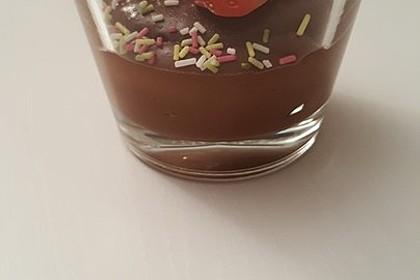 Gourmet-Schoko-Pudding selbstgemacht, sahnig und schokoladig 43