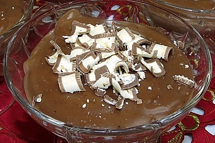 Gourmet-Schoko-Pudding selbstgemacht, sahnig und schokoladig 23