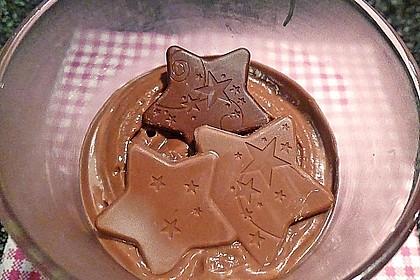 Gourmet-Schoko-Pudding selbstgemacht, sahnig und schokoladig 11