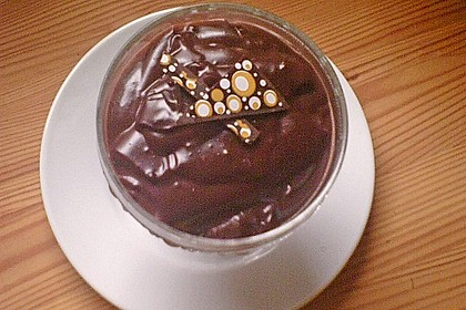 Gourmet-Schoko-Pudding selbstgemacht, sahnig und schokoladig 39