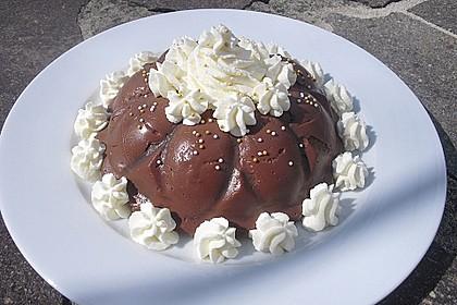 Gourmet-Schoko-Pudding selbstgemacht, sahnig und schokoladig 4