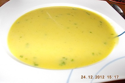 Apfel-Lauch Suppe mit Curry 24