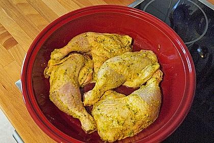 Hühner-Tajine mit eingelegter Zitrone und grünen Oliven 2