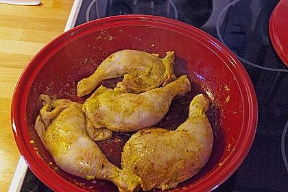 Hühner-Tajine mit eingelegter Zitrone und grünen Oliven 3