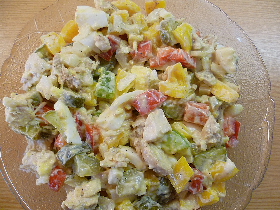 Eiweiss Salat Von Katrin313 Chefkoch De