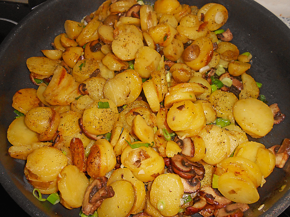 Rezept kartoffeln champignons