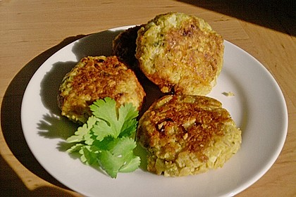 Vegetarische Frikadellen (Bouletten) 1