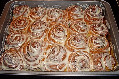 Cinnamon Rolls with Cream Cheese Frosting 12