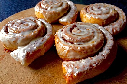 Cinnamon Rolls with Cream Cheese Frosting 30