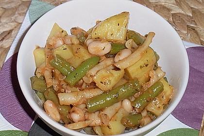 Kartoffel-Bohnen-Salat 2