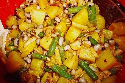 Kartoffel-Bohnen-Salat 1