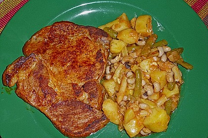 Kartoffel-Bohnen-Salat 4