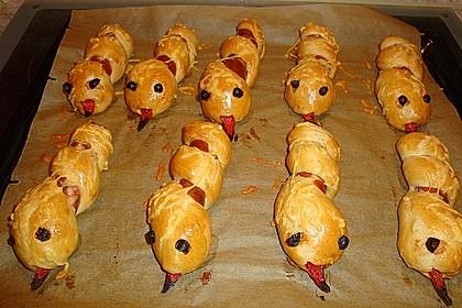 Hotdog-Schlangen 8