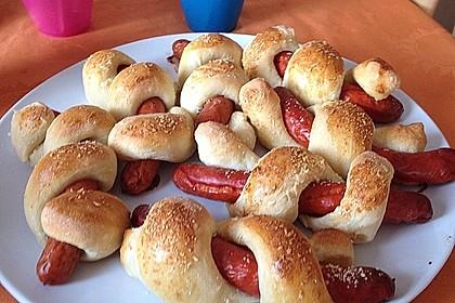 Hotdog-Schlangen 12