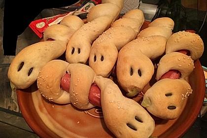 Hotdog-Schlangen 3