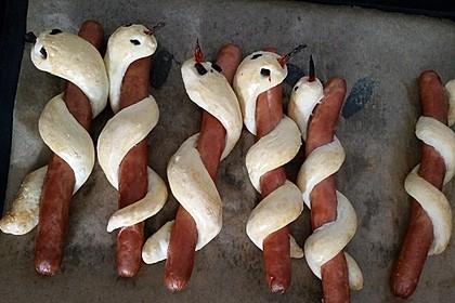 Hotdog-Schlangen 17
