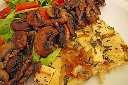 Vegetarischer Schafskäse-Fladen 5
