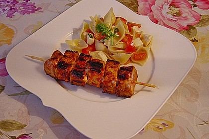 Nudel-Tomaten-Mozzarella-Salat 7