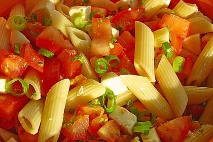 Nudel-Tomaten-Mozzarella-Salat 6