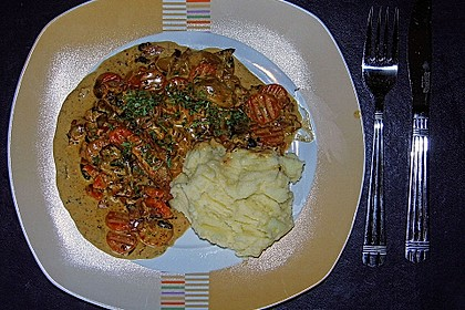 Möhren-Champignon-Gemüse 1