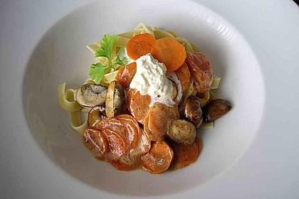 Möhren-Champignon-Gemüse