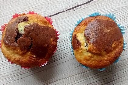 Hermann Muffins Schokolade, Vanille 1