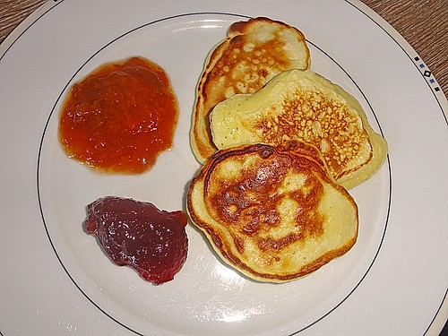 fluffige pancakes rezept mit bild von julia hanna. Black Bedroom Furniture Sets. Home Design Ideas