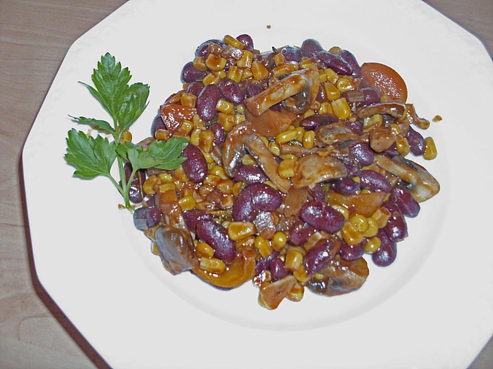 Schnelle Chili-Bohnen Pfanne in 10 Minuten von Fiefhusener ...