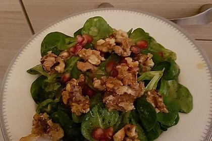 Weihnachtlicher Feldsalat mit Granatapfelkernen 25