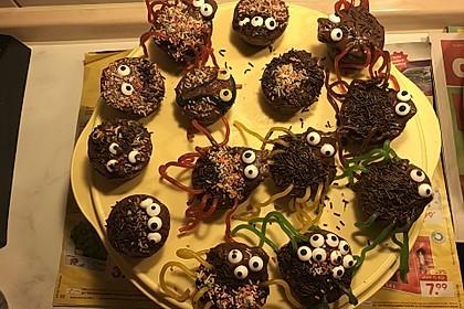Spinnenmuffins für Halloween 40