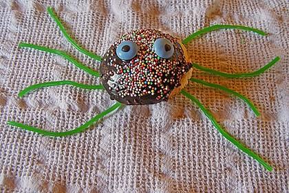 Spinnenmuffins für Halloween 36