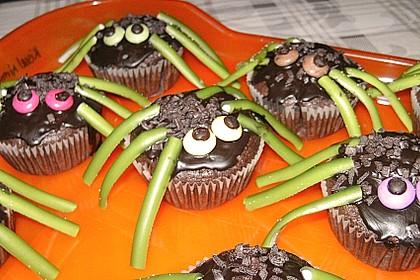 Spinnenmuffins für Halloween 18