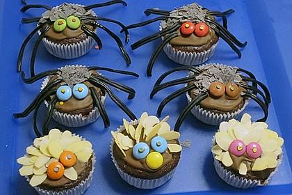 Spinnenmuffins für Halloween 20