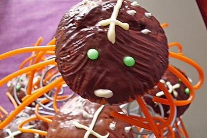 Spinnenmuffins für Halloween 37