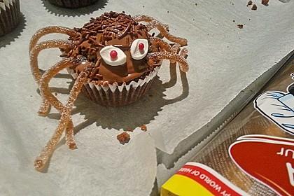 Spinnenmuffins für Halloween 23