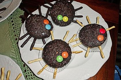 Spinnenmuffins für Halloween 32