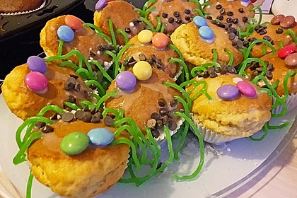 Spinnenmuffins für Halloween 35