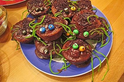 Spinnenmuffins für Halloween 25