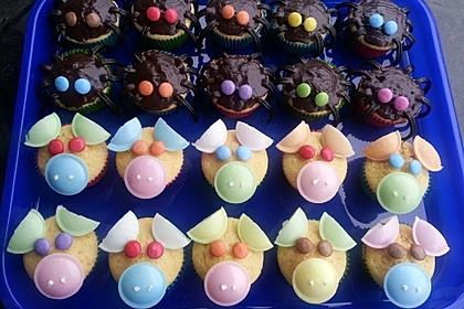 Spinnenmuffins für Halloween 2