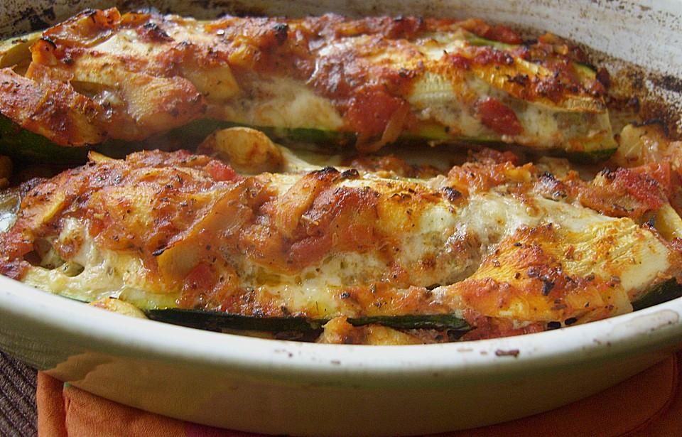 Zucchini Mit Hackfleisch Rezept