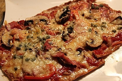 Low Carb Pizza 38