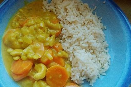 Cashew-Möhren-Kokos Curry 5