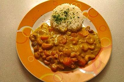 Cashew-Möhren-Kokos Curry 2