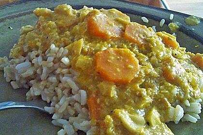Cashew-Möhren-Kokos Curry 7