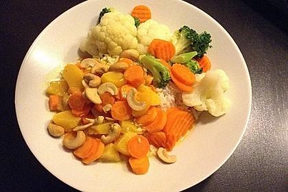 Cashew-Möhren-Kokos Curry 3